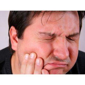 آبسه لثه همراه با درد می باشد