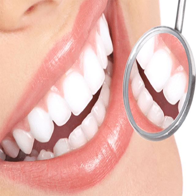 زیبایی دندان های سفید و طرح لبخند