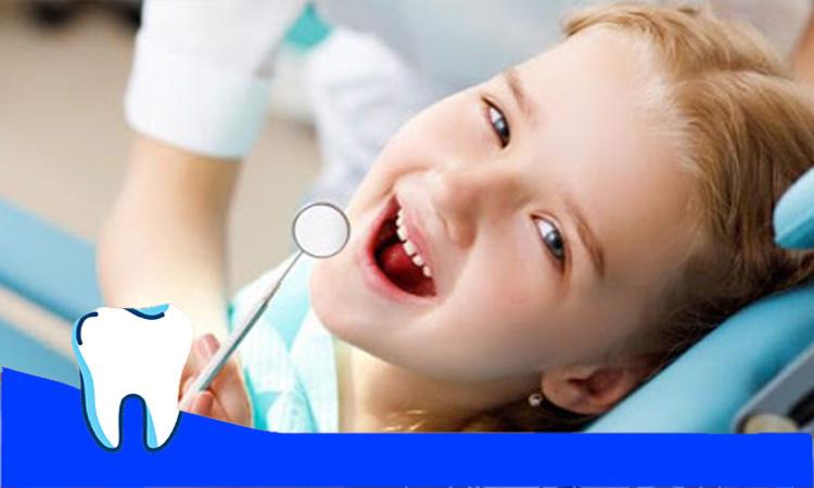 معاینه دندان کودک